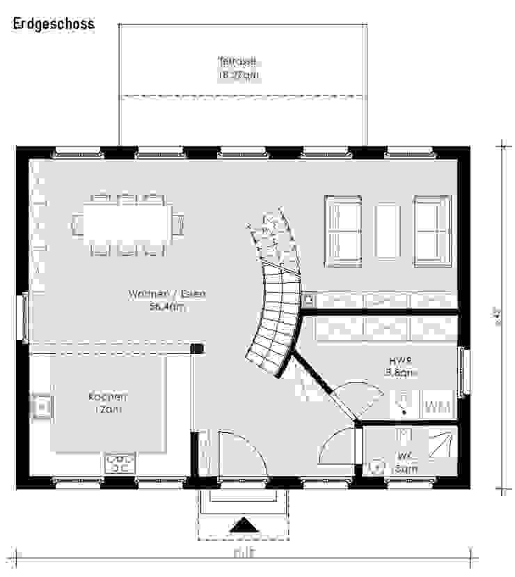 Haus Falkensee 2 von Müllers Büro Klassisch