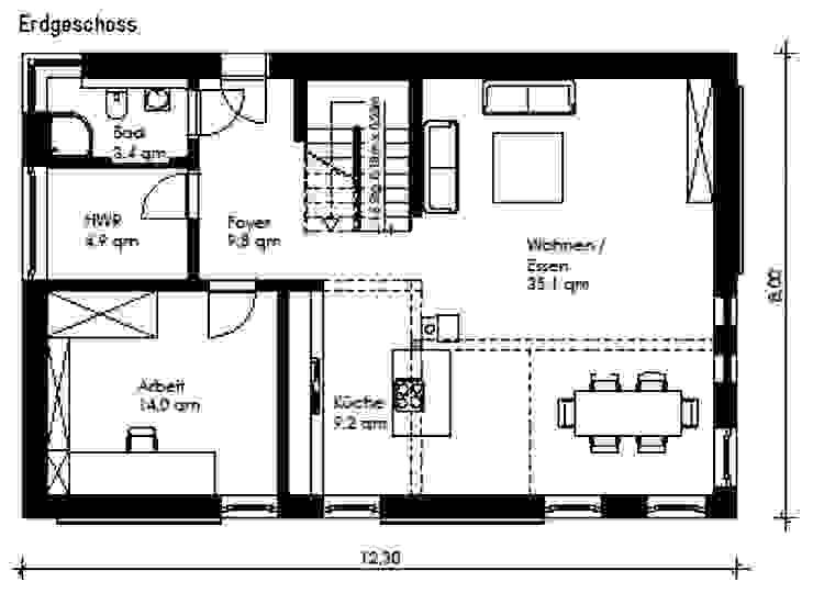 HAUS GROSS GLIENICKE Minimalistische Häuser von Müllers Büro Minimalistisch