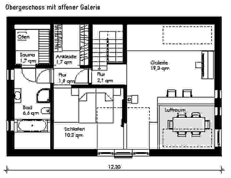 HAUS GROSS GLIENICKE Müllers Büro Minimalistische Häuser