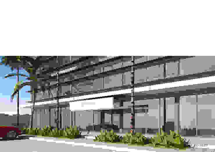 Centro de escritórios Platinum Plaza por Esfera de Imagens Lda