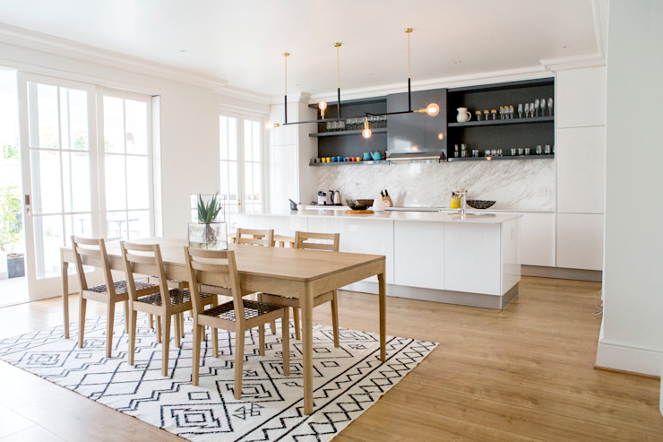 House Oranjezicht Scandinavian style dining room by ATTIK Design Scandinavian