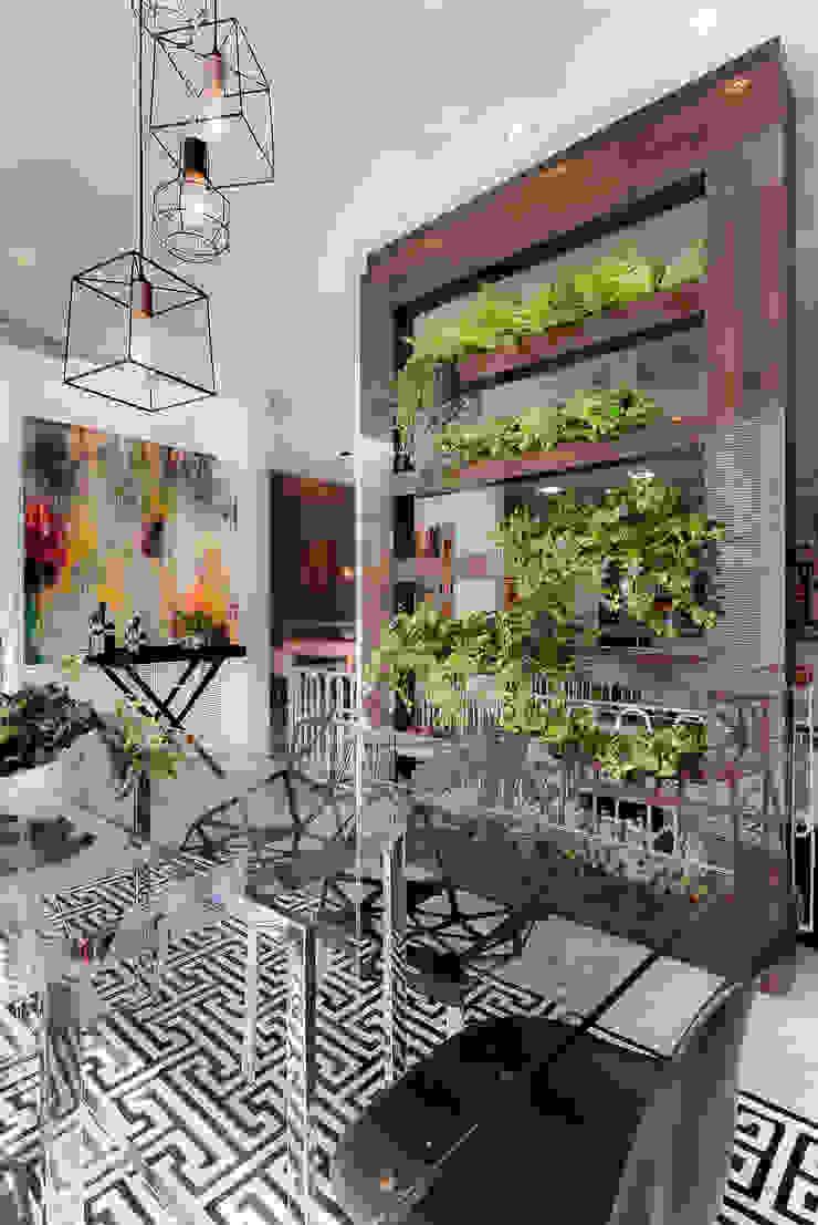 Comedores de estilo industrial de Sgabello Interiores Industrial Vidrio