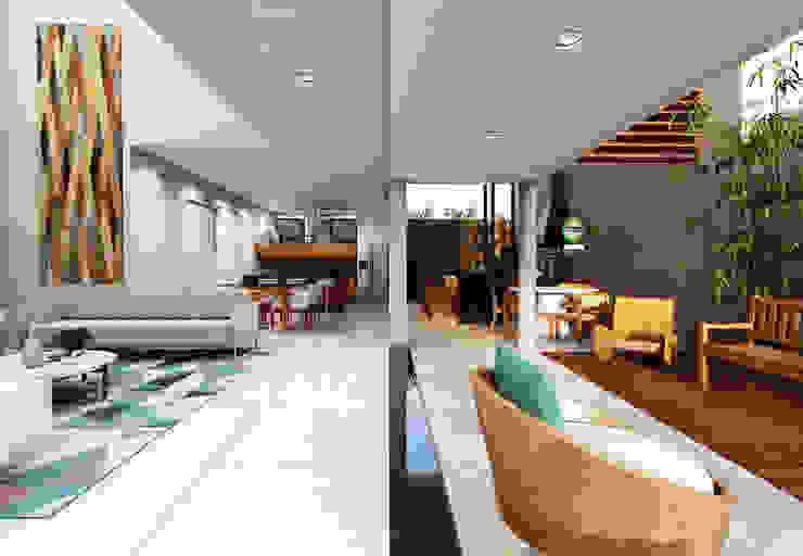 Lozí - Projeto e Obra Modern living room