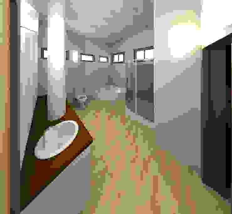 Baño principal Baños de estilo moderno de Diseño Store Moderno