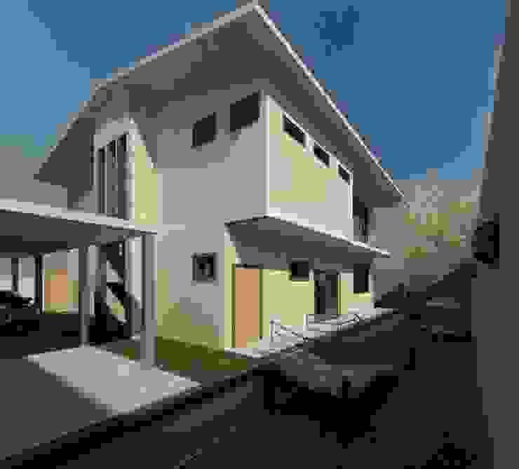 Fachada posterior Casas modernas de Diseño Store Moderno