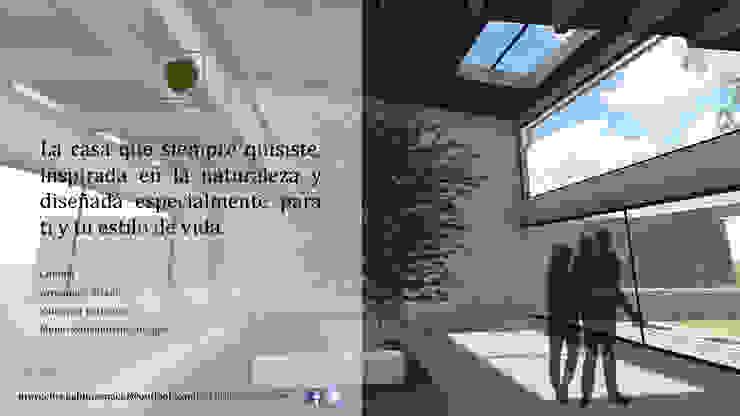 Eco-vivienda en Jiutepec Morelos Casas modernas de Habitaespacio Moderno