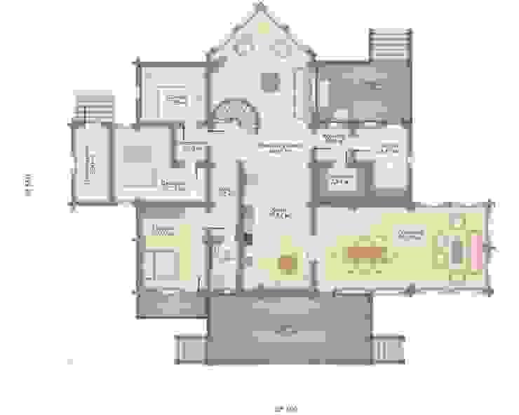 Индивидуальный проект GOOD WOOD Дома в классическом стиле от GOOD WOOD Классический