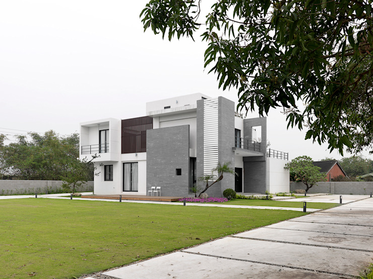 Modern houses by 夏沐森山設計整合 Modern