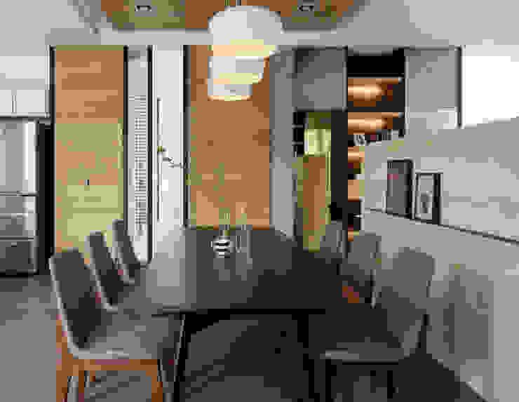 Salas de jantar  por 夏沐森山設計整合