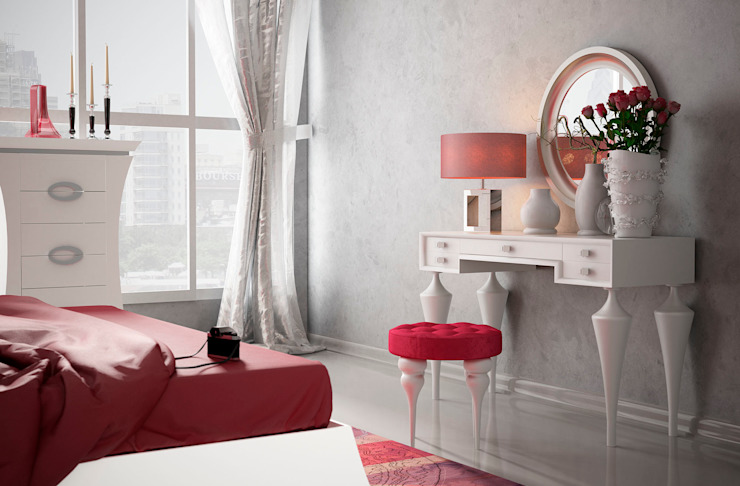 Muebles Soliño BedroomDressing tables Chipboard Red