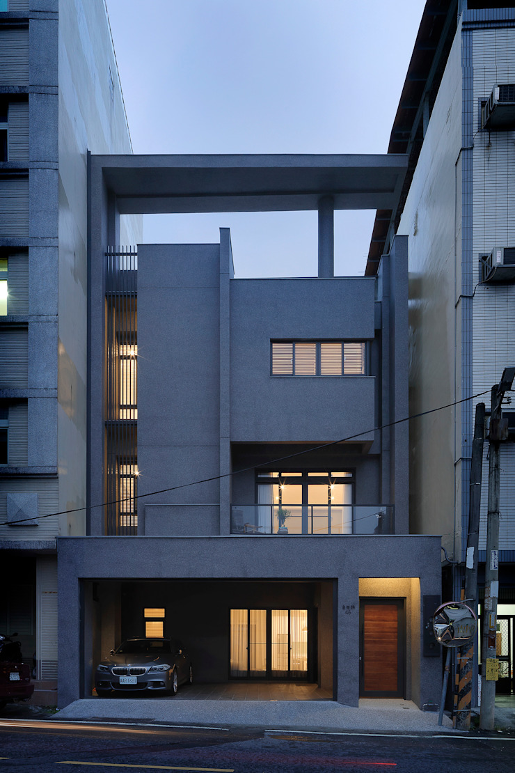 Freedom house 現代房屋設計點子、靈感 & 圖片 根據 夏沐森山設計整合 現代風