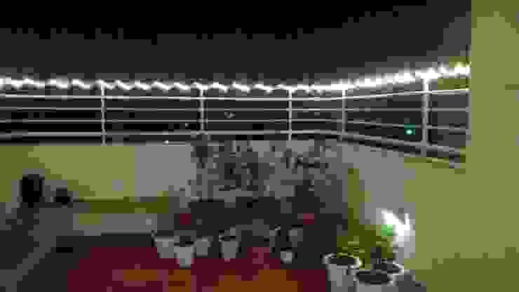 Terrace Garden by ThirdEye Landscapes