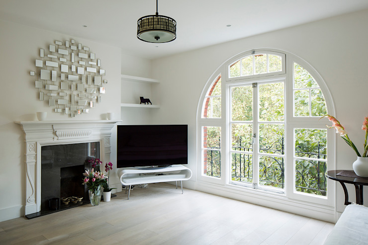 Maida Vale Extensions Modern living room by homify Modern