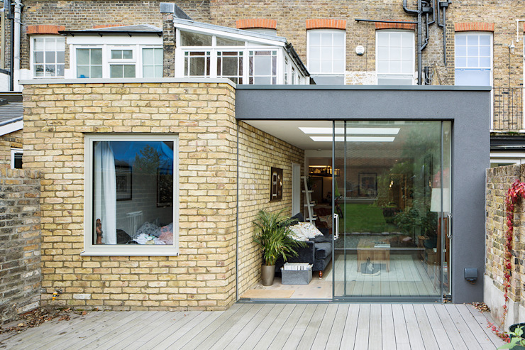 Maida Vale Extensions Modern Garden by homify Modern