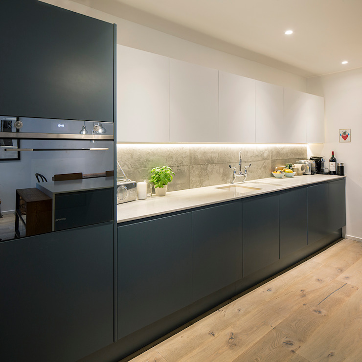 Maida Vale Extensions Modern kitchen by homify Modern