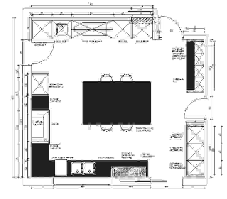 Distribución del espacio de DEULONDER arquitectura domestica