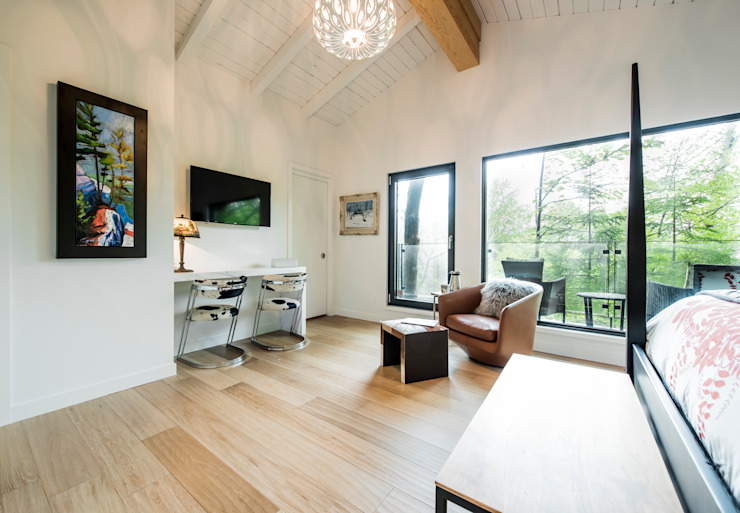 Modern style bedroom by BLDG Workshop Inc. Modern