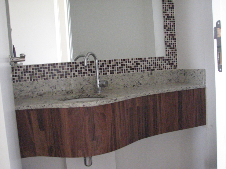 modern  by Holis Móveis Planejados, Modern Wood Wood effect