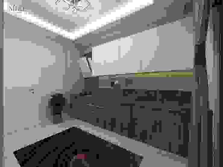 現代廚房設計點子、靈感&圖片 根據 nihle iç mimarlık 現代風