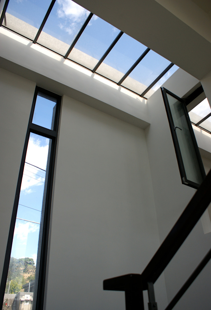新埔 休閒別墅 現代風玄關、走廊與階梯 根據 大也設計工程有限公司 Dal DesignGroup 現代風