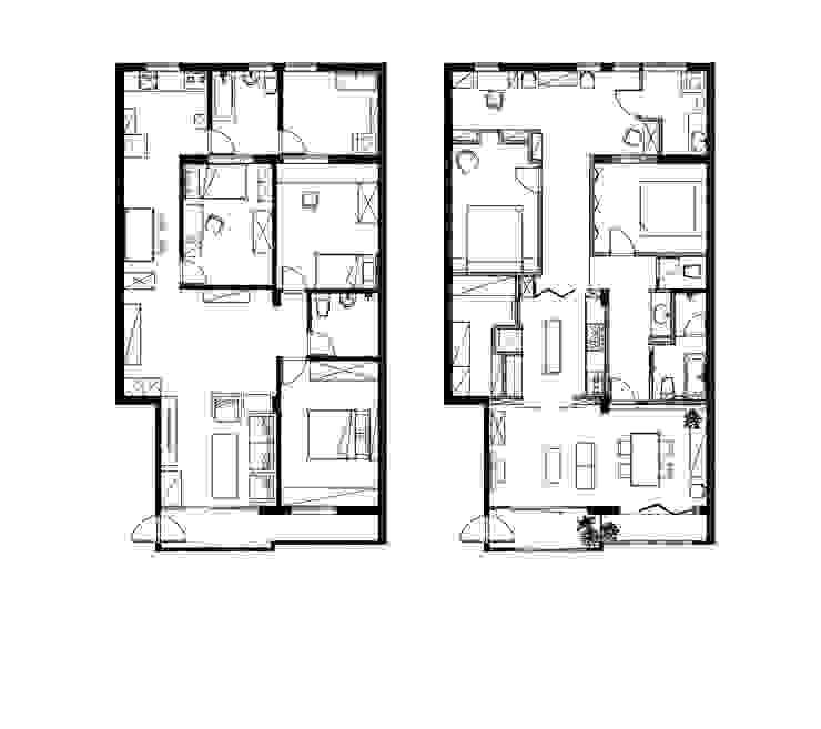 Before & After隔局配置 根據 雷孟空間設計