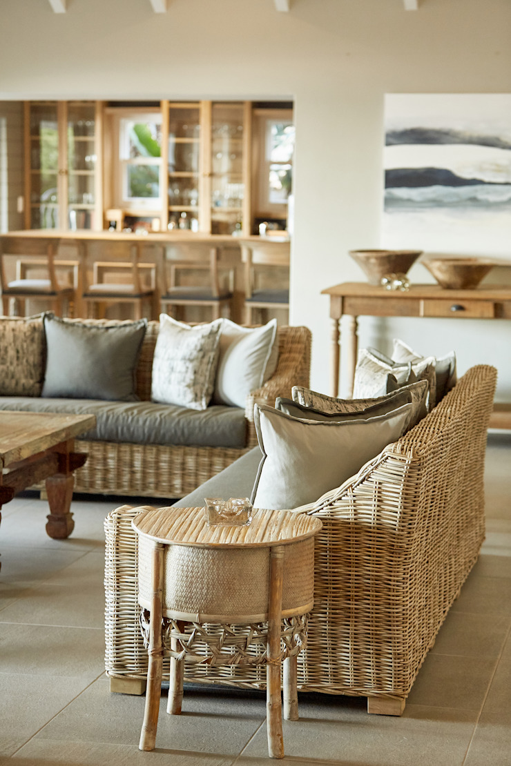 BEACH HOUSE by JSD Interiors Eclectic Wood Wood effect