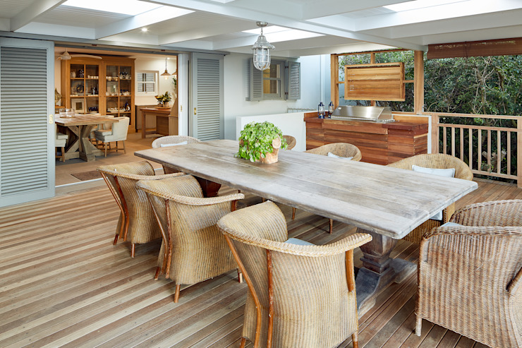 Terrace by JSD Interiors, Eclectic Wood Wood effect
