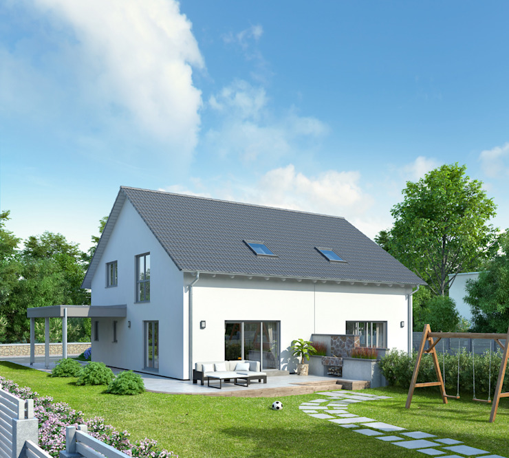 homify Modern houses Multicolored