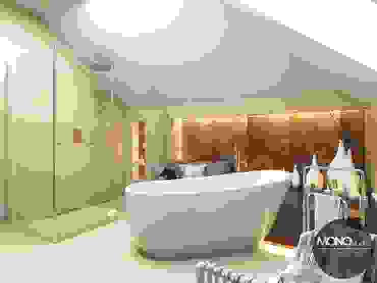 Modern bathroom by MONOstudio Modern