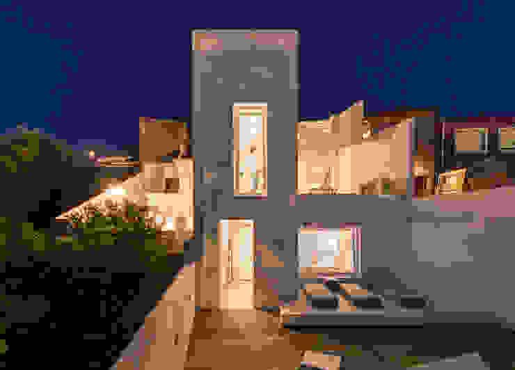 Casas de estilo minimalista de studioarte Minimalista Ladrillos