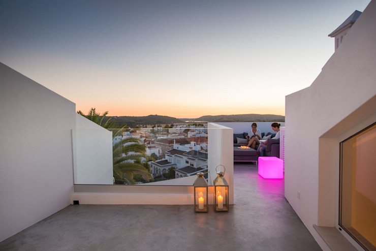 Terrace view Balcones y terrazas minimalistas de studioarte Minimalista