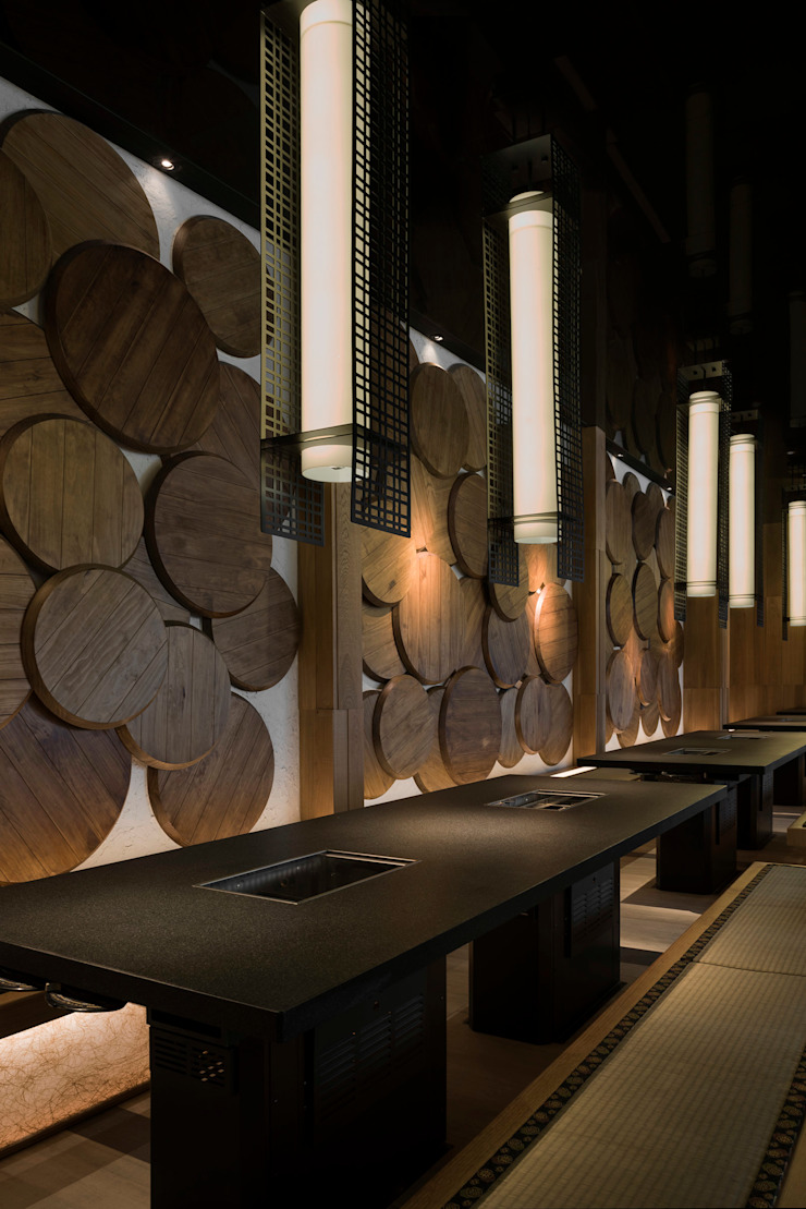 昭日堂燒肉 根據 周易設計 日式風、東方風