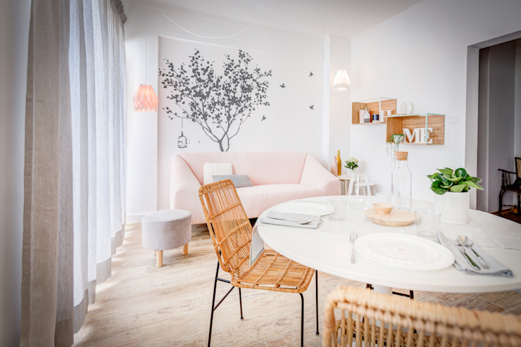 homify Salon scandinave
