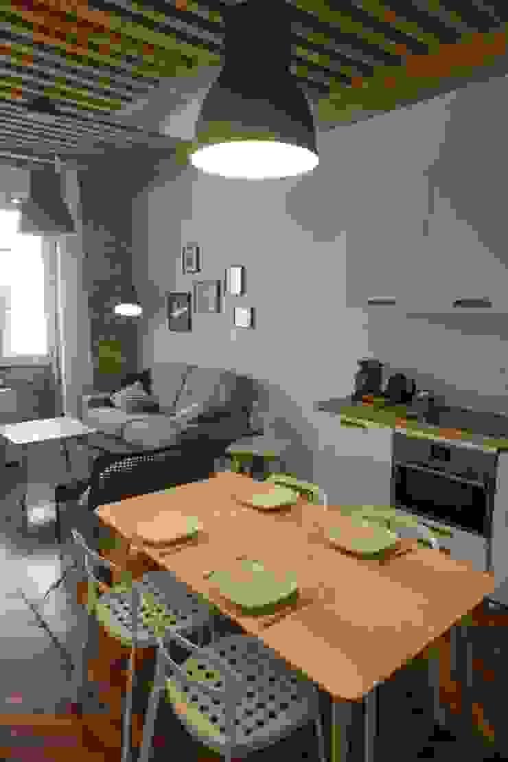 Aménagement D'un appartement LYON Salle à manger scandinave par AL Intérieurs Scandinave