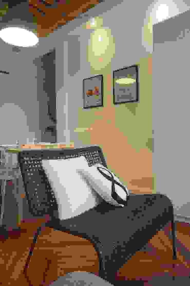 Aménagement D'un appartement LYON Salon scandinave par AL Intérieurs Scandinave