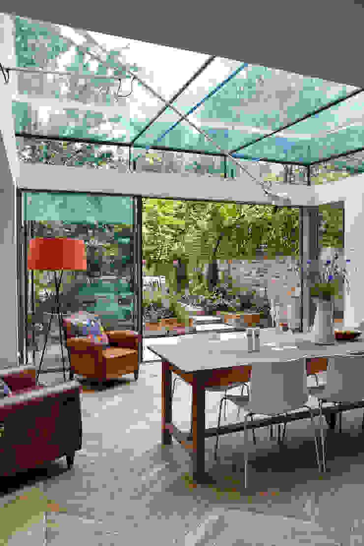 Dining Room - Glass Extension Trombe Ltd Modern Dining Room