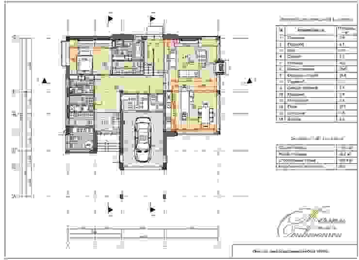 Первый дом из серии Art Village от Компания архитекторов Латышевых 'Мечты сбываются'