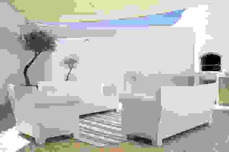 CASA MINHA Varandas, marquises e terraços minimalistas por studioarte Minimalista