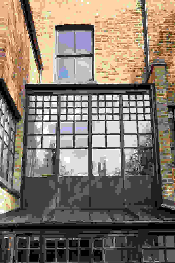 External shot Trombe Ltd Modern Windows and Doors Metal Black
