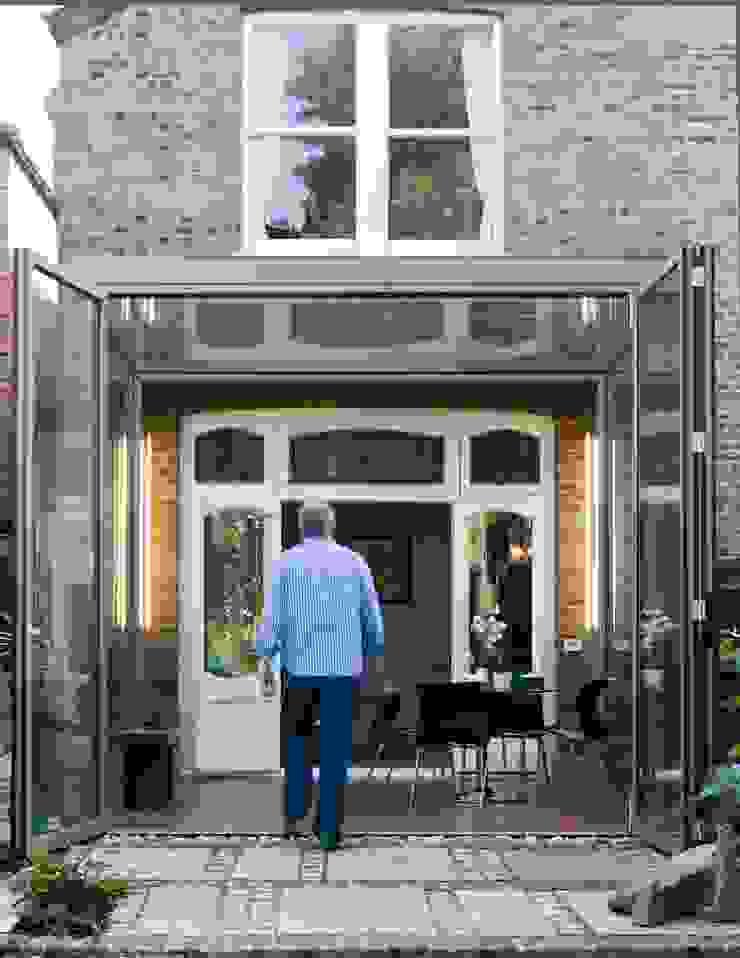 Frameless Glass Box Extension Trombe Ltd Modern Conservatory