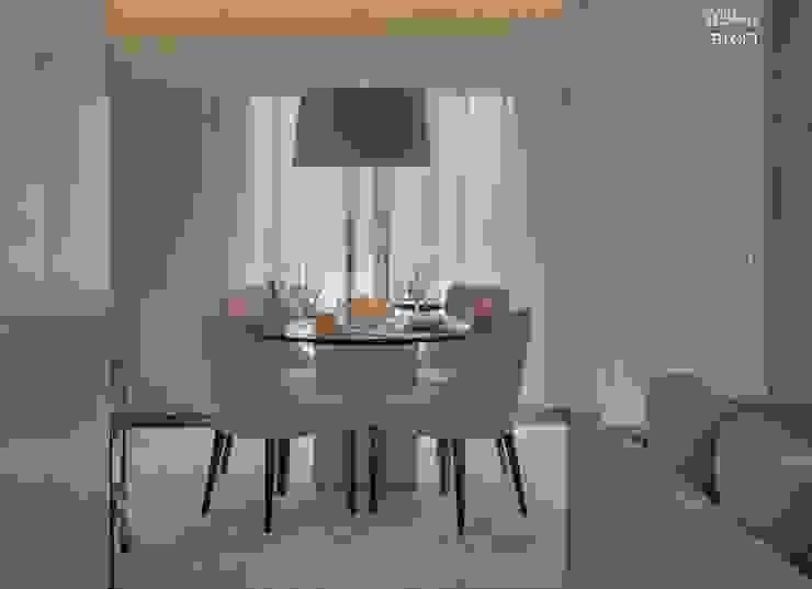 Salas de jantar minimalistas por B.loft Minimalista