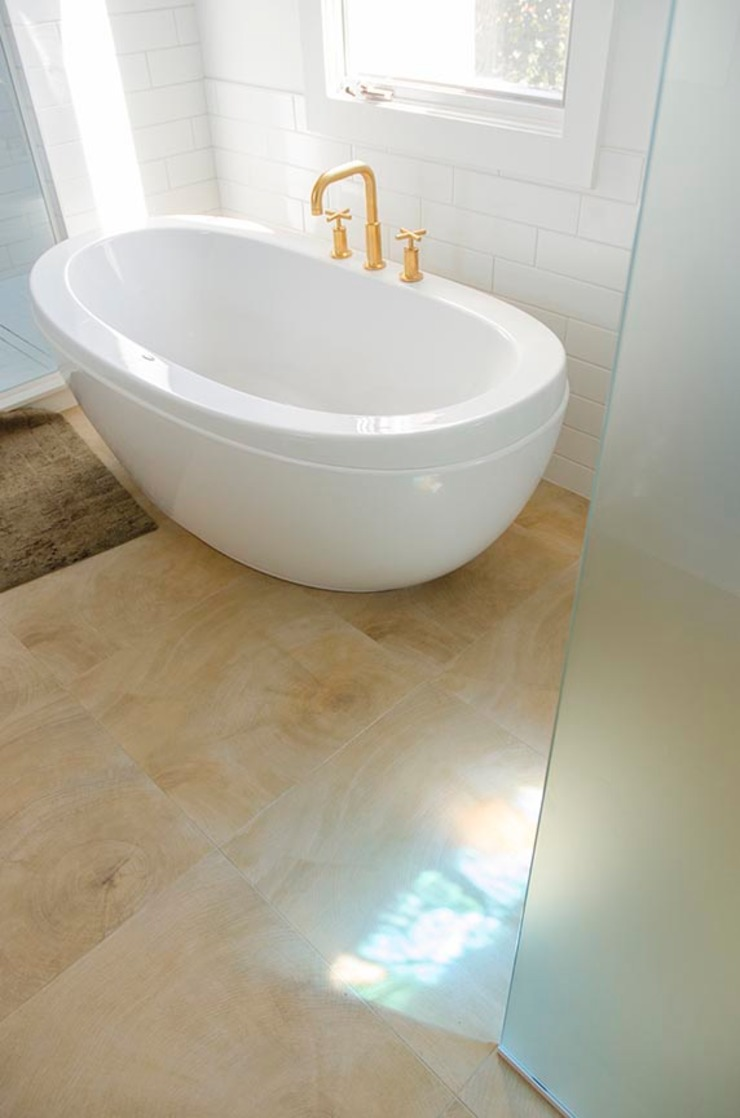New Edinburgh Renovations Scandinavian style bathroom by Jane Thompson Architect Scandinavian Tiles
