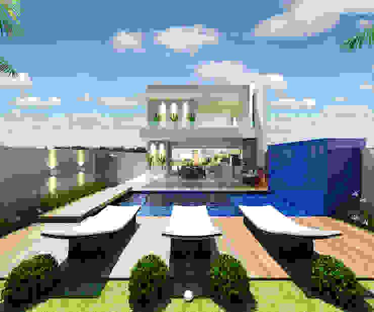 Modern houses by Arquiteto Tales Miranda Modern