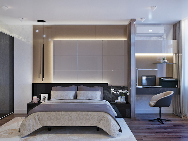 Minimalist bedroom by homify Minimalist