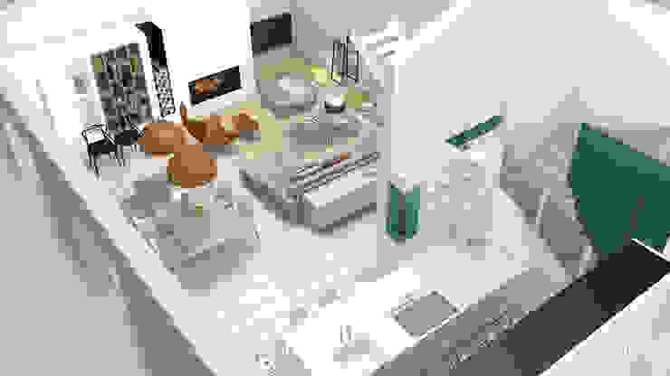 Rénovation d'une maison individuelle – Mornant Camille BASSE, Architecte d'intérieur Couloir, entrée, escaliers modernes