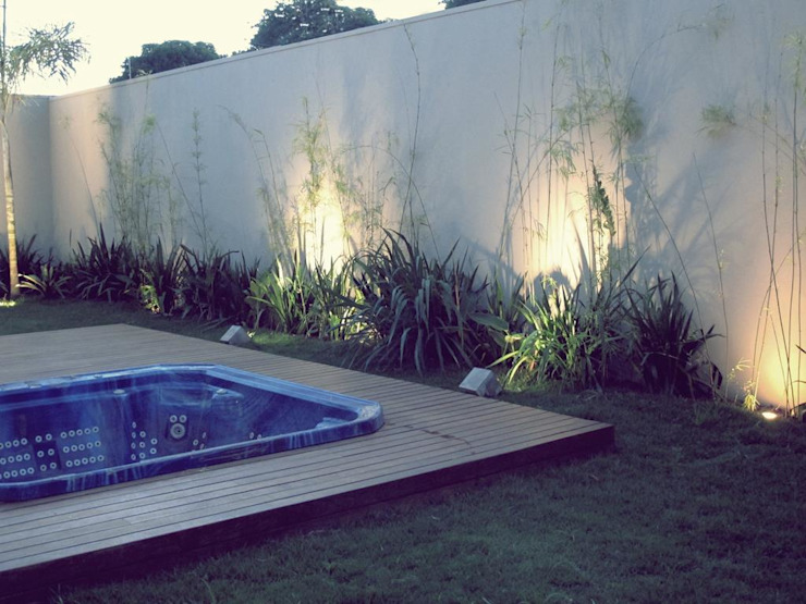 Jardines de estilo rústico de Cia de Arquitetura Rústico