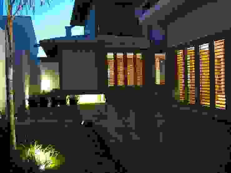 Casas de estilo  por Cia de Arquitetura, Rústico
