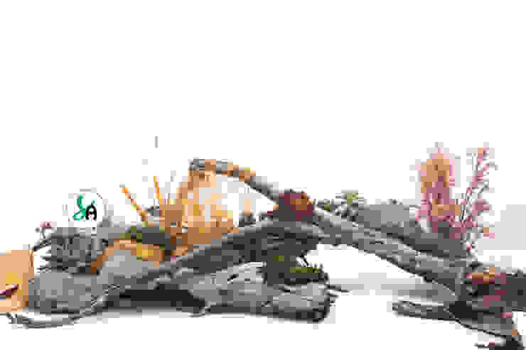 Cores de Outono Salas de jantar modernas por Sublim Ambiente Moderno Madeira Acabamento em madeira