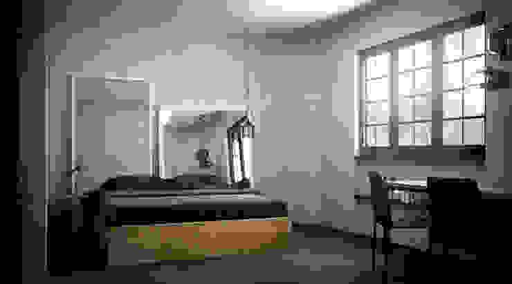 camera da letto B&B labzona Hotel in stile scandinavo