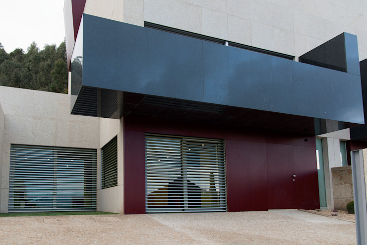 Empreendimento LUZIA VILLAS | Edifício Multifamiliar Casas modernas por Valdemar Coutinho Arquitectos Moderno